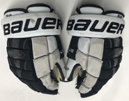 "Bauer Nexus 1N Custom Pro Stock Hockey Gloves 13"" FRIARS #21"