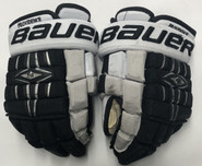 "Bauer Nexus 1000 Pro Stock Custom Hockey Gloves 12"" Providence Friars"