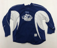 Reebok Edge Custom Pro Stock Hockey Practice Jersey SYR Crunch 58