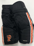 Bauer Custom Pro Stock Hockey Pants Black XL Princeton NCAA USED