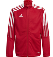 Somers Youth Soccer Adidas Tiro 21 Track Jacket Red
