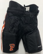 Bauer Custom Pro Stock Hockey Pants Black Medium Princeton NCAA USED