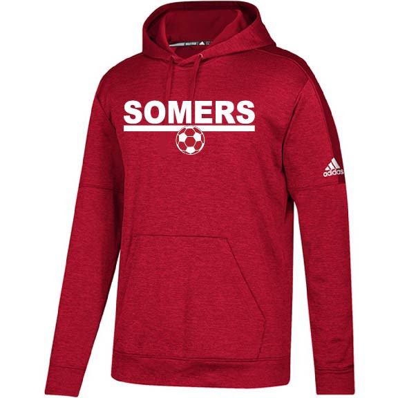 nouvelle arrivee 456b2 8b77b Somers Youth Soccer Adidas Pull Over Hooded Sweatshirt