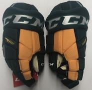 """CCM HGTK Pro Stock Custom Hockey Gloves 14"""" NEW NCAA KELLY"""