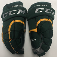 "CCM HG12 Pro Stock Custom Hockey Gloves 15"" NEW NCAA"