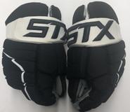 "STX Stallion HPR IH Pro Stock Custom Hockey Gloves 14"" Pittsburgh Penguins SS NHL"