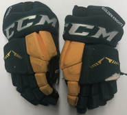 "CCM HGTKPP Pro Stock Hockey Gloves 14"" Used"