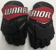 "Warrior QRL covert Pro Stock Custom Hockey Gloves 13"" NU Huskies used"