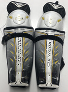"Bauer Supreme Total One Pro Sr Shin Guards 12"" Pro Stock Used"