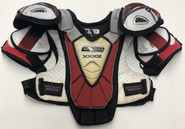 Nike Bauer Vapor XXXX Shoulder Pads LARGE Used Boston University