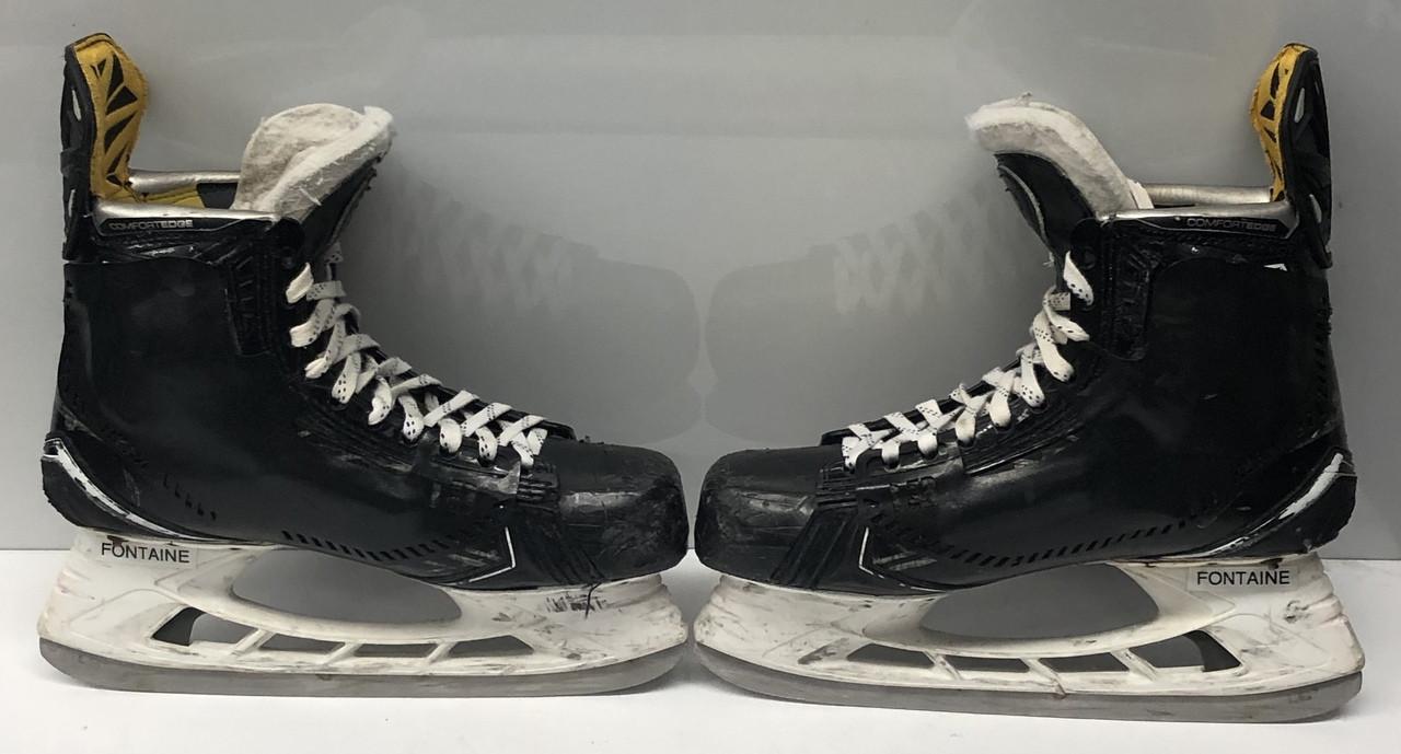 Used Hockey Skates >> Bauer 1s Custom Pro Stock Ice Hockey Skates 9 5 D Used