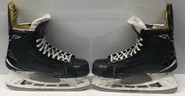 BAUER 1S PRO STOCK ICE HOCKEY SKATES 9.5 D USED