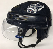 BAUER 4500 PRO STOCK HOCKEY HELMET SMALL AHL WOLFPACK #77