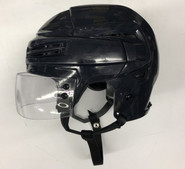 BAUER REAKT 100 PRO STOCK HOCKEY HELMET NAVY BLUE LARGE