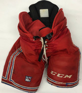 CCM HP 45 Custom Pro Stock Hockey Pants Red Large New York Rangers (4)