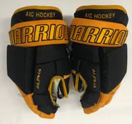 """Warrior Alpha Pro Custom Pro Stock Hockey Gloves AIC NCAA 14"""""""