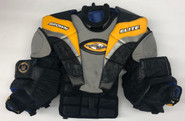 BROWN PRO STOCK XL GOALIE CHEST PROTECTOR