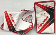 BAUER VAPOR 1X Goalie Blocker and Glove Set Pro Stock