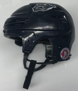 BAUER REAKT 100 PRO STOCK HOCKEY HELMET NAVY BLUE LARGE #3