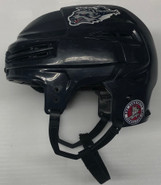 BAUER REAKT 100 PRO STOCK HOCKEY HELMET NAVY BLUE MEDIUM #81
