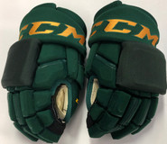 "CCM HGQL Pro Stock Custom Hockey Gloves 14"" Vermont #24"