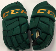 "CCM HGQL Pro Stock Custom Hockey Gloves 13"" Vermont #21"