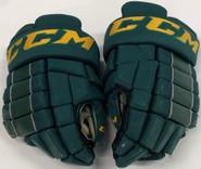 "CCM HG4RRP Pro Stock Custom Hockey Gloves 14"" Vermont #11"