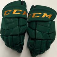 "CCM HGQL Pro Stock Custom Hockey Gloves 13"" Vermont #14"