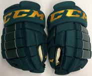 "CCM HG4RRP Pro Stock Custom Hockey Gloves 14"" Vermont NEW"