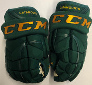 "CCM HG12XP Pro Stock Custom Hockey Gloves 13"" Vermont NEW"