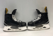 BAUER 1S PRO STOCK ICE HOCKEY SKATES 8E LF 8 1/4E RF USED