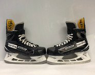 BAUER 1S PRO STOCK ICE HOCKEY SKATES 9 1/2 EEE USED BARONA