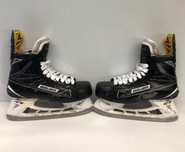 BAUER 1S PRO STOCK ICE HOCKEY SKATES 7 1/2D USED