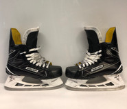 BAUER 1S PRO STOCK ICE HOCKEY SKATES 9 1/2 EE USED
