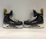 BAUER 1S PRO STOCK ICE HOCKEY SKATES 9E USED