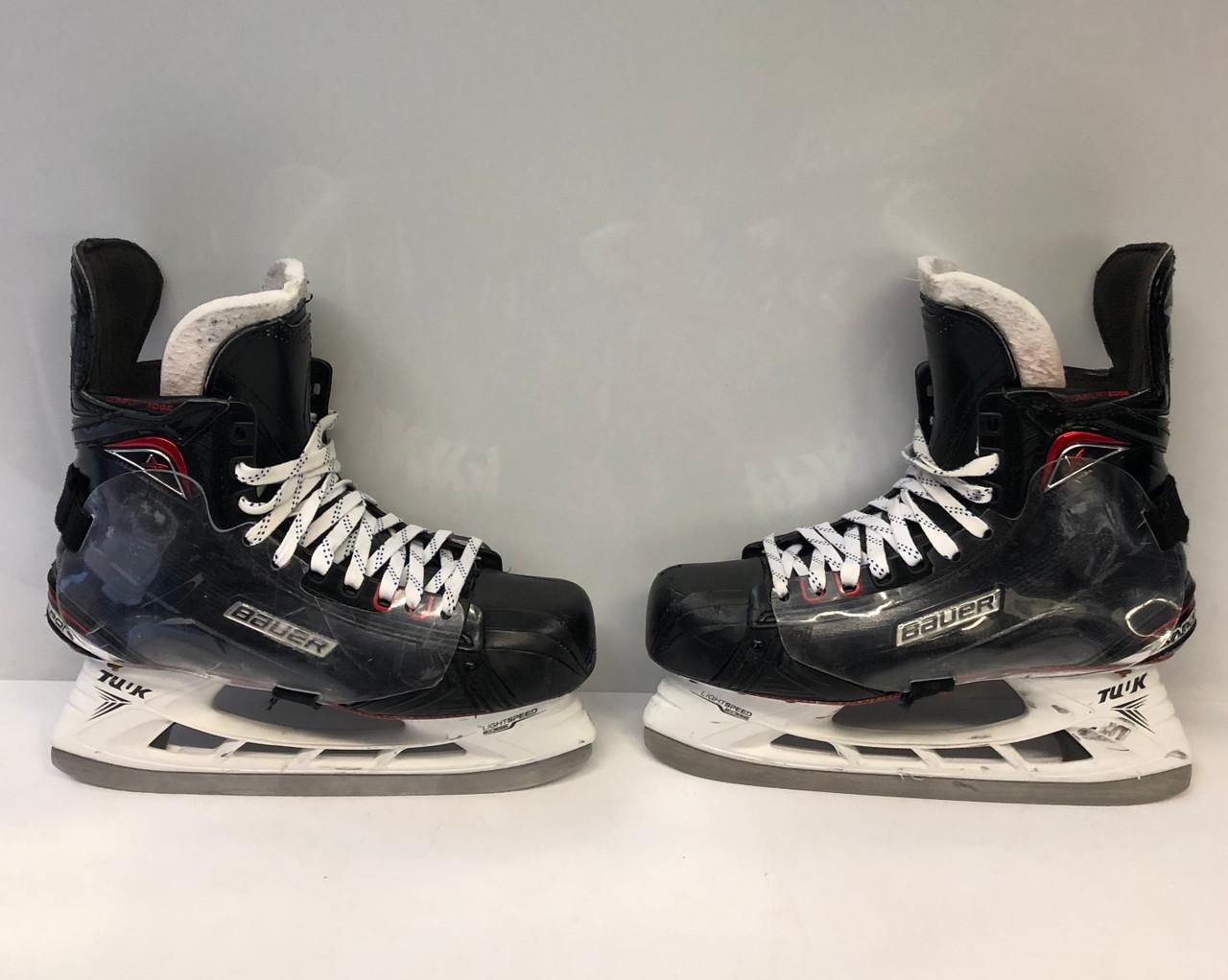 Used Hockey Skates >> Bauer Vapor 1x 2 0 Custom Pro Stock Ice Hockey Skates 10 1 2 D Used