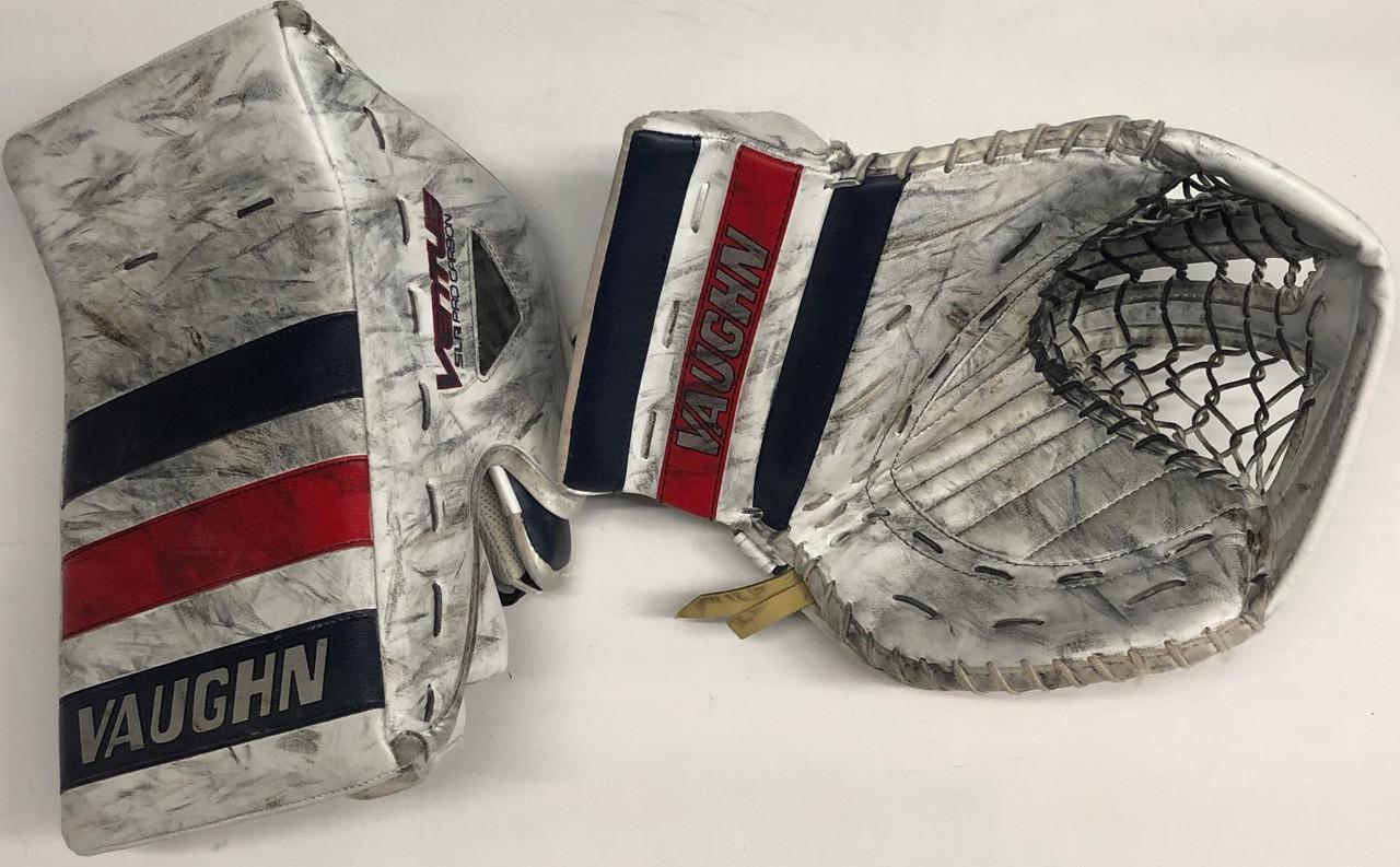 Vaughn Ventus SLR Pro Carbon Goalie Glove and Blocker Custom Pro Stock