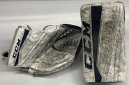CCM Extreme Flex 2 Pro Goalie Glove and Blocker Pro Stock NCAA