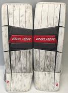 Bauer 2S Pro Goalie Leg Pads XL Pro Stock NCAA
