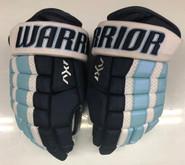 """Warrior AX1 Pro Stock Custom Hockey Gloves 12"""" University of Maine New"""