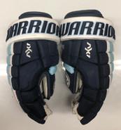 """Warrior AX1 Pro Stock Custom Hockey Gloves 15"""" University of Maine Used #18"""