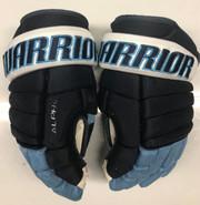 "Warrior Alpha Pro Stock Custom Hockey Gloves 14"" University of Maine Used #15"