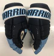 "Warrior Alpha Pro Stock Custom Hockey Gloves 13"" University of Maine Used #10"