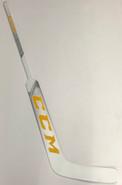 "CCM Premier Pro Custom LH Pro Stock Goalie Stick 24"" Vermont #1"