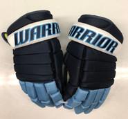 "Warrior Alpha Pro Stock Custom Hockey Gloves 14"" University of Maine Used #20"