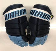"Warrior Alpha Pro Stock Custom Hockey Gloves 14"" University of Maine Used #16"
