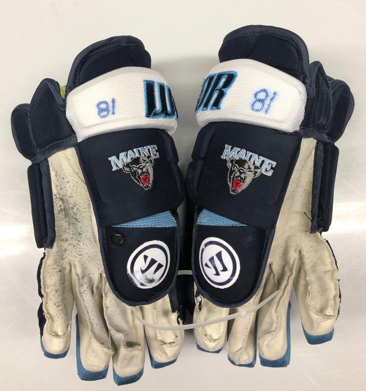 Warrior Alpha Pro Stock Custom Hockey Gloves 15
