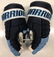 "Warrior Alpha Pro Stock Custom Hockey Gloves 15"" University of Maine Used #18"
