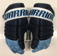 "Warrior Alpha Pro Stock Custom Hockey Gloves 14"" University of Maine Used #14"