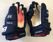 "Bauer 1X Lite Pro Stock Custom Hockey Gloves 13"" NHL Panthers"